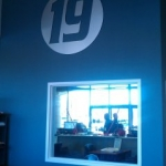 Fitness19 Large Wall Logo
