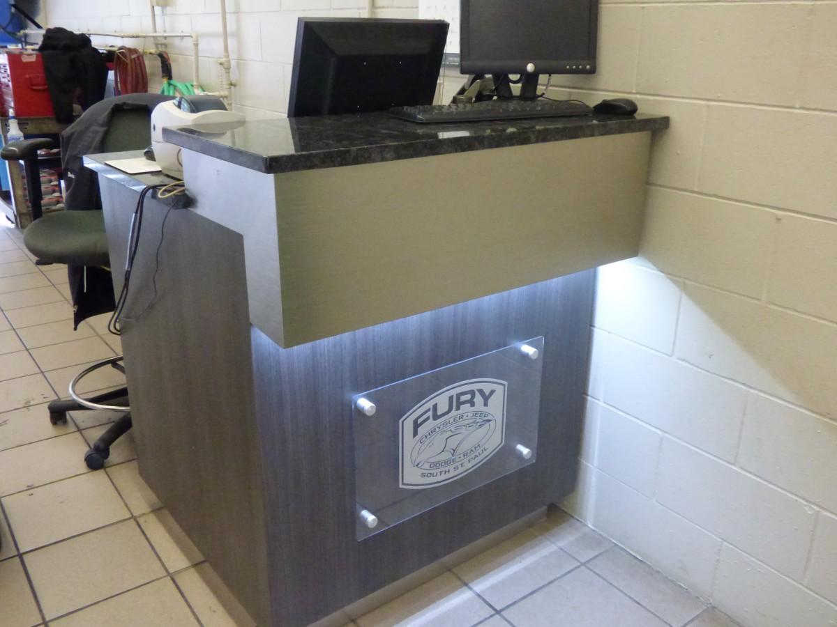Fury Motors South St Paul >> Custom Auto Dealership Cabinets