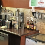 Custom Coffee Shop Cabinetry