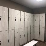 Custom Double Stacked Lockers