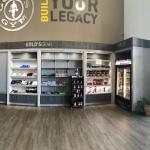 Custom Retail Display Center for Fitness Center