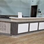 Reception Desk for Gold's Gym Albemarle, NC