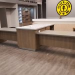 Personal Trainers Desk for Gold's Gym