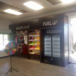 Gold's Gym Retail Display