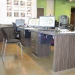 Fitness Center Trainer's Desk