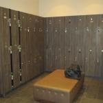 Fitness Center Lockers