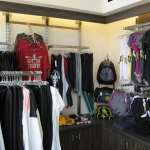 High End Retail Displays for Fitness Center