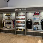 Retail Displays for Fitness Center
