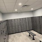 Fitness Center Locker Room