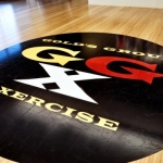 Fitness Center Floor Graphics