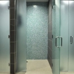 Fitness Center Shower Stalls