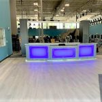 Custom Fitness Center Reception Desk
