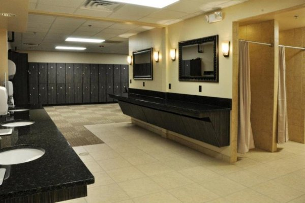 Fitness Center Custom Millwork Gold S Gym Harrisburg Nc