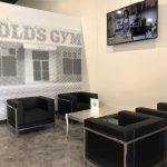 Custom Fitness Center Brand Graphics