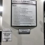 Fitness Center Direction Signage