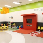 Fitness Center Kids Club Wall Panels