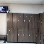 Custom Lockers for Gold's Gym