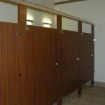 Custom Built Restroom Stalls
