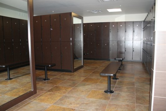 Fitness center custom millwork golds gym northwest
