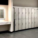 Double Tier Fitness Center Lockers
