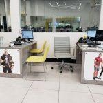 End Panel Graphics on Sales Desk