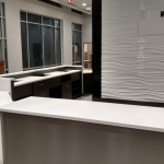 Fitness Center Desk installation