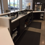 Reception Desk Cabinets and Countertops