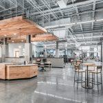 Custom Fitness Center Reception Desk