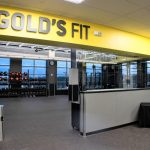 Gold's Gym Interior Signage