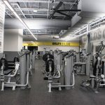 Interior Branding For Gold's Gym