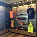 Fitness Center Retail Display