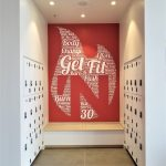 Wall Mounted Brand Messages