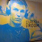 Interior Fitness Center Signage for Gold's Gym