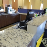 Reception Desk and Cabinets