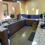 Reception Desk and Countertops