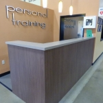 Fitness Center Personal Training Desk
