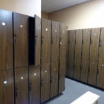 Double Stacked Fitness Center Lockers