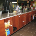 Fitness Center Smoothie Bar & Cabinetry
