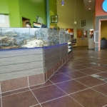 Fitness Center Reception Desk