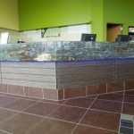 Custom Reception Desk for Fitness Centers