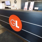 Fitness Club Reception Desk