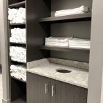 Locker Room Towel Storage
