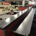 Floating Commercial Countertops