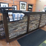 Custom Hotel Reception Desk