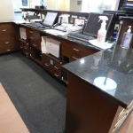 Reception Desk Cabinets