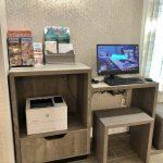 Hotel Guest Printer Station