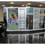 Custom Commercial Graphic Display