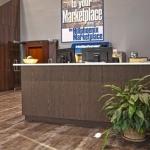 Custom Designed Reception Desk