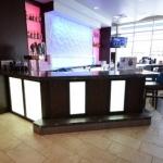 Custom Hotel Lobby Bar