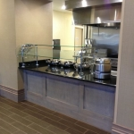 Hotel restaurant buffet cabinets